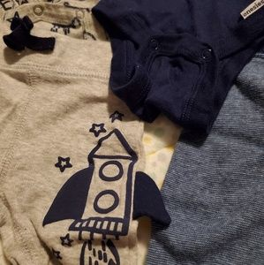 Matching Sets - Newborn space outfits!